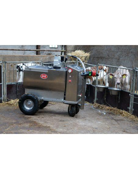 Milk Trolley - 200 liter tank